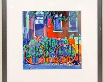 Bike at Home Framed