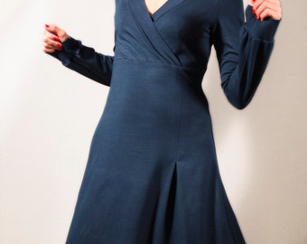 Dress Perla long sleeves