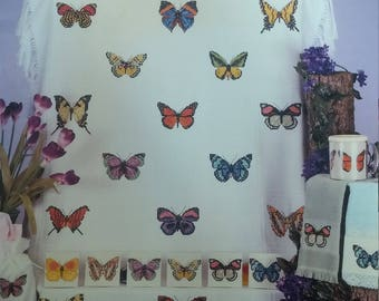 Butterfly Collection Counted Cross Stitch Leaflet