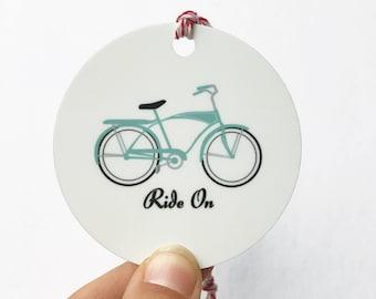 Retro Schwinn Bike Ornament, Bike Gift, Bicycle Ornament, Gift for 10 dollars