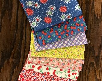 30's Playtime 2014 by Chloe's Closet for Moda Fabrics - 9 Fat Quarters