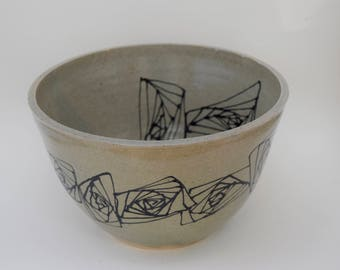 abstract large bowl