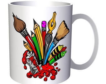 Stationery Writing Painting Tools 11oz Mug x932