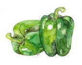 Bell Pepper Painting - Pr...