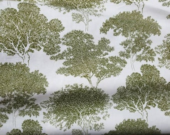 Arboretum - Duralee Fabric - by Thomas Paul - Fern - by the yard - Morningstars