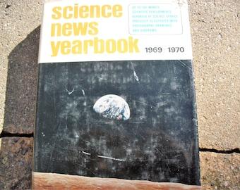 Vintage Book Science News Yearbook 1969-1970