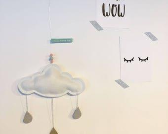"Mobile ""small cloud"" white"