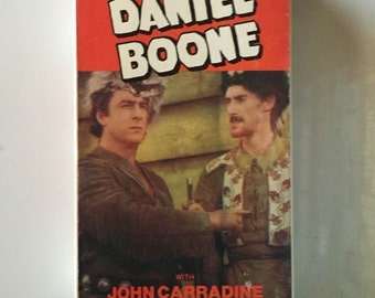 Daniel Boone (VHS) 1936 Starring George O'Brien with John Carradine
