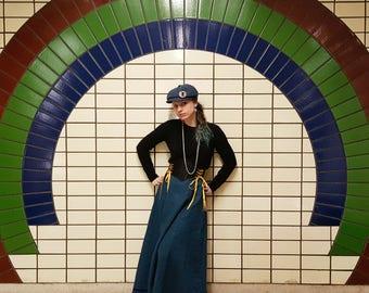 Linen Skirt, Ankle Length Skirt, Edwardian Skirt, Long Skirt, Customisable, Made to order
