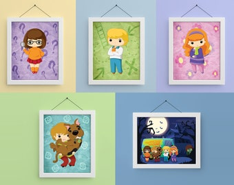 Scooby Gang 8x10 Prints