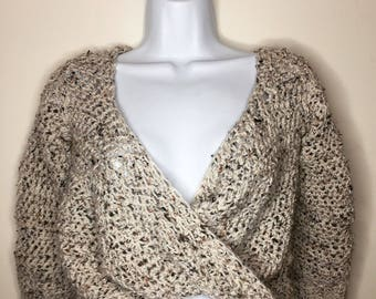 The Date Night Cozy Crochet Sweater
