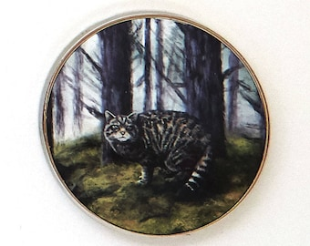Wildcat Fridge Magnet