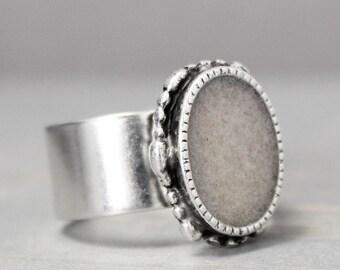 Rose Quartz Ring, Heart Chakra, Ornate Ring, Statement Ring, Grounding Ring, Meditation Jewelry, Crystal Jewelry Rose Quartz Jewelry