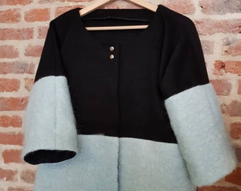 Vest, cashmere and mohair