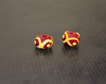 Viking glass bead