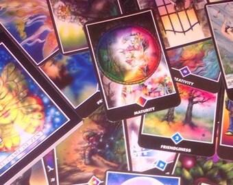 O S H O  Z E N   T A R O T - 3 Card Reading
