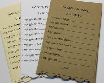 20 bébé douche souhait cartes bébé neutre bébé douche bébé souhait Tag bébé garçon souhait carte Manille bébé fille souhait carte souhait Tag bébé voeux