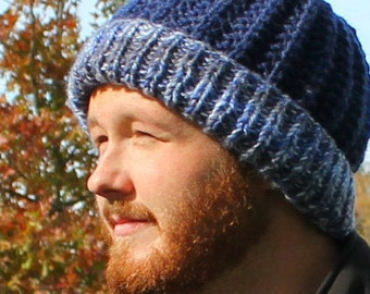 Mens hat pattern etsy maverick stocking capbeanie patternknitted hat patternwinter hat pattern mens dt1010fo