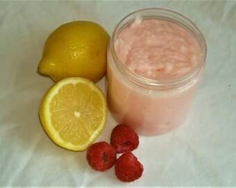 Raspberry Lemon Sugar Scrub