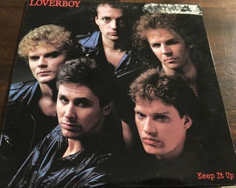 Loverboy Keep It Up Record LP
