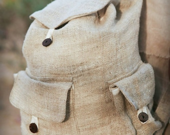 Hemp Backpack ~