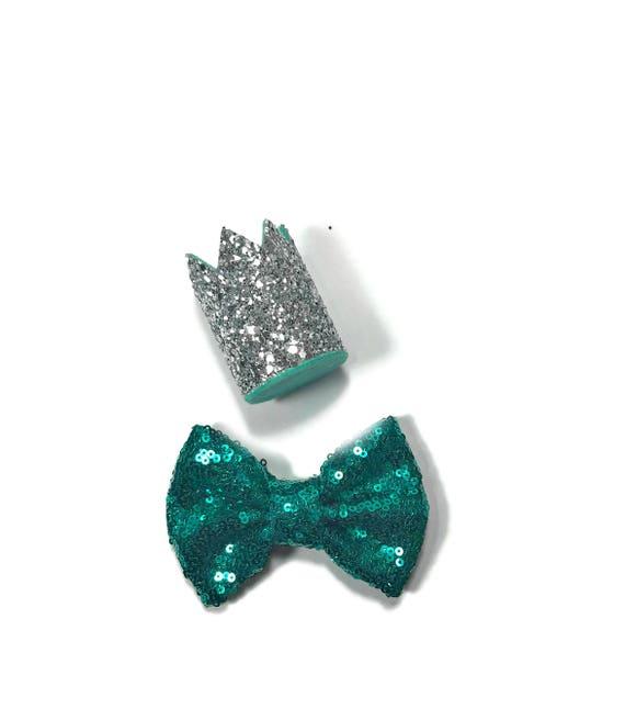 Dog Birthday || Dog Birthday Hat + Bow Tie || Animal Party Hat || Cat Kitty Puppy Pig Birthday Crown Hat || Add Any Number