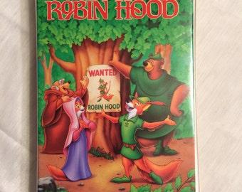 Walt Disney's Robin Hood Black Diamond Collection Classics VHS