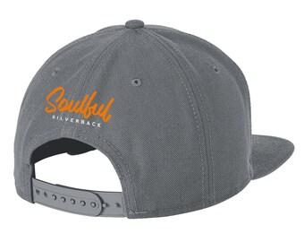 Soulful Silverback New Era Snapback Cap, Gray
