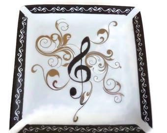 """Tidy China pattern """"Music"""""""