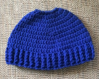 custom order Messy Bun Hat, Pony Tail Hat, Custom order colored hat, Crochet Adult hat, Man Bun Hat, Ski Hat, Winter Hat, Jogging Hat, hat