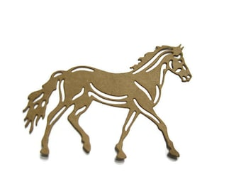 Horse Die Cut Set of 12 Horse Cut Out Set of 12