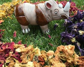 Miniature Rhino Ceramics