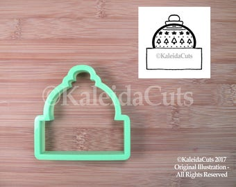 Ornament Plaque Cookie Cutter. Holiday Cookie Cutter. Christmas Cookie Cutter. Holiday Cookie Cutters. Baking Gifts.