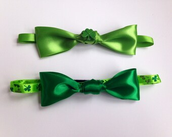St. Patrick's Day Bowtie costume accessories