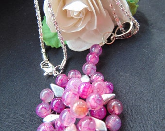 Dragon Vein Agate Necklace