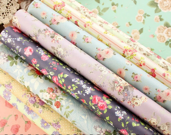 Flower gift wrapping paper book 24 sheets of floral patterns for flower gift wrapping paper book 24 sheets of floral patterns for wrapping from augustandmarch on etsy studio mightylinksfo