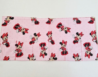 Minnie Mouse roll princess wallet toy organizer car roll/ car wallet