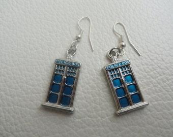 TARDIS Earring Set