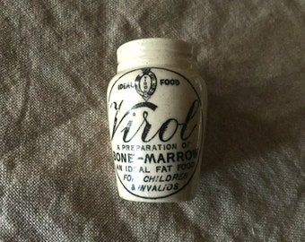"Fabulous VINTAGE English stone ""VIROL"" pot from the early 1900's. My vintage home."