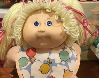 Vintage Doll Bib