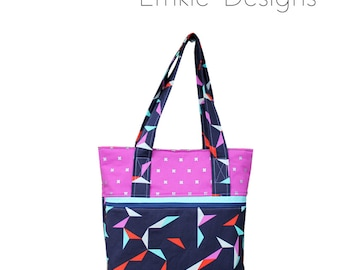 The Everyday Tote Bag - PDF Sewing Pattern - Instant Download