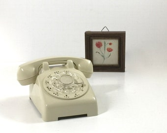 Vintage Rotary Dial Toy Phone