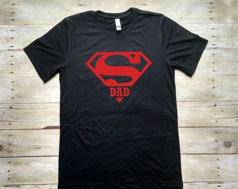 Super Dad Shirt, Daddy Shirt, Fathers Day Gift, Shirt for Dad