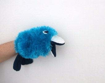 Blue Bird Hand Puppet