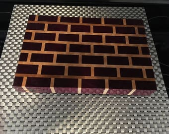 Brick Wall End Grain Cutting Board