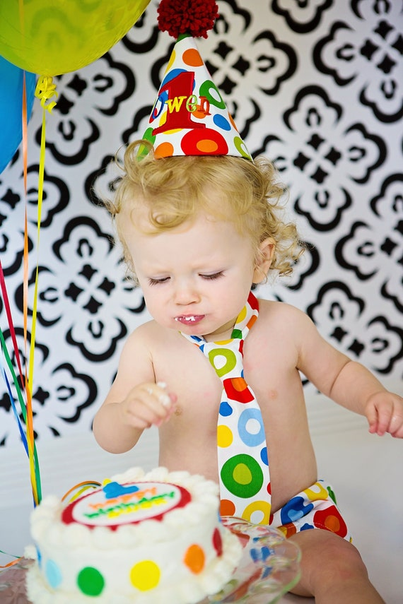 Items similar to PERSONALIZED Baby Boy First Birthday Cake ...