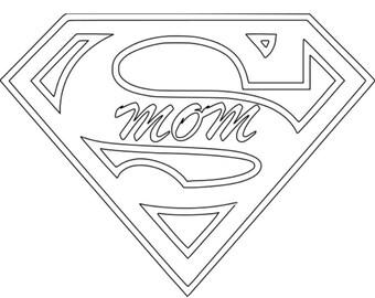 Supermom Decal