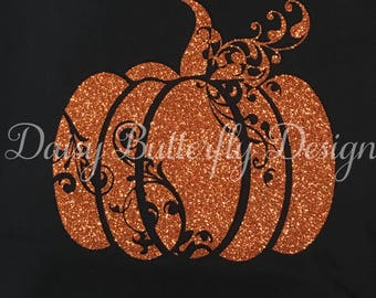 Halloween Shirt - Scroll Pumpkin