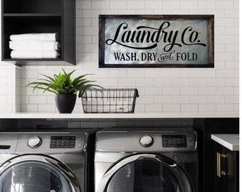 Laundry room decor | Etsy
