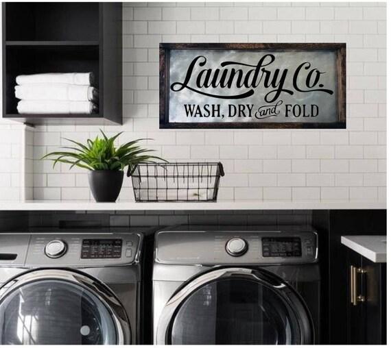 Laundry Room Sign Laundry Sign Laundry Room Decor Laundry